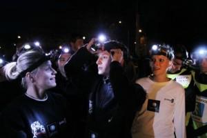 Noční běh pro Světlušku po druhé