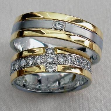 luxusní snubní prsteny