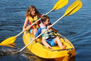 Půjčovna raftů Vyšší Brod, sjíždění Vltavy s dětmi