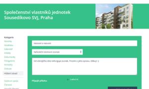 Komunikujte se sousedy přes webový portál