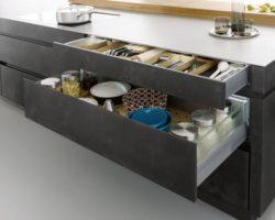 Betonové kuchyně spojují skvělý design s funkčností