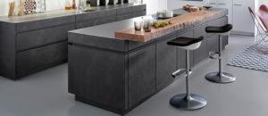 Designové kuchyně s použitím betonu