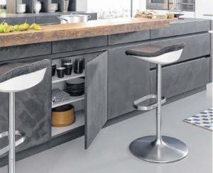 Renovace kuchyní s použitím betonu