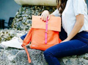 Trendy designový batoh do města