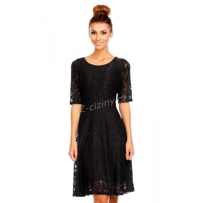 Foto: z-ciziny.cz, dámské krajkové šaty Mayaadi Fabio černé