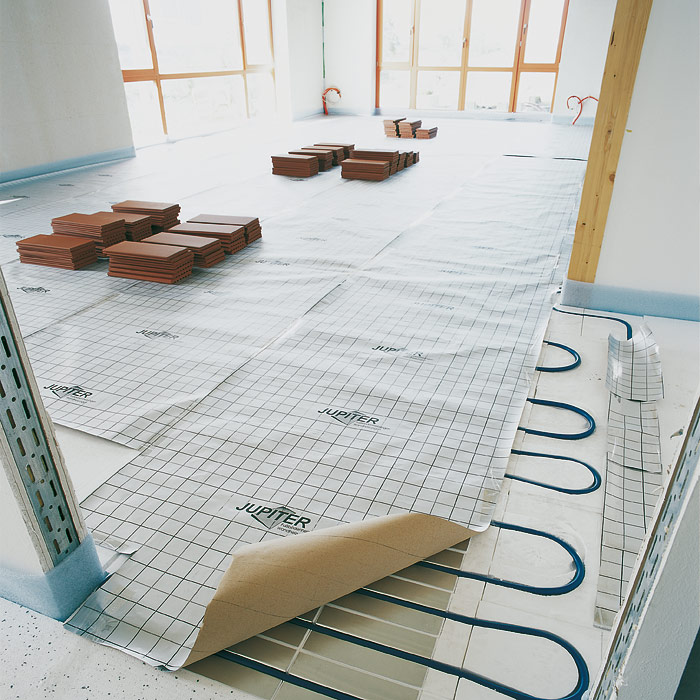 podlahové vytápění, zdroj: Creaton.cz
