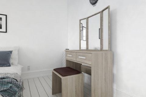 Toaletní stolek se zrcadlem: Domácí kosmetika se stane hračkou