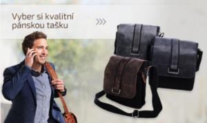 Skvělý dárek? Dámská kabelka či peněženka i pánská taška