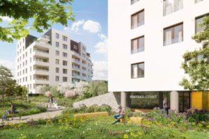 Finep v Praze staví další nové byty. Rozšiřuje úspěšnou Britskou čtvrť o další etapu