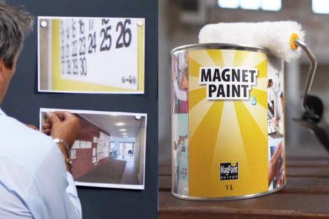3 tipy, jak využít magnetickou barvu MagPaint pro tvorbu nástěnky